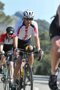 Bike seemed great on the climb.